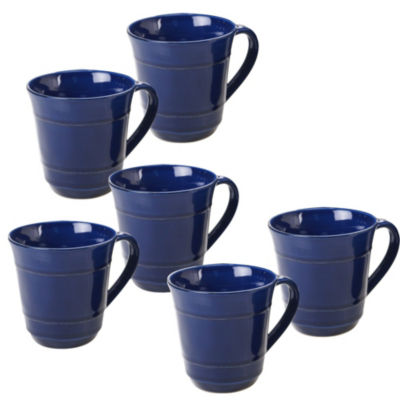 Certified International Orbit Blue Coffee Mug