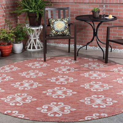 Veranda Vega Round Transitional Area Rug