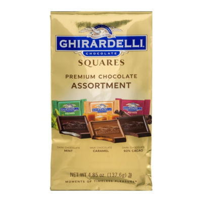 Ghirardelli Chocolate Squares Premium Assortment -4.85 oz - 3 Pack