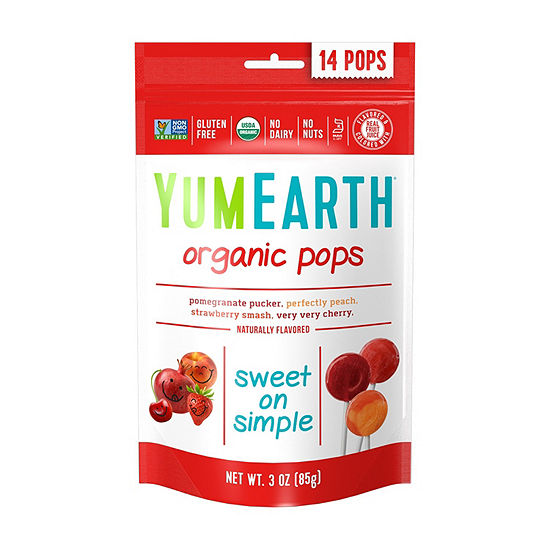YumEarth Organic Lollipops - 3 oz - 6 Pack