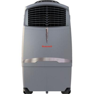 Honeywell 525 CFM Indoor/Outdoor Evaporative Air Cooler (Swamp Cooler) with Remote Control in Gray