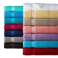 Deals on JCPenney Home Performance Bath Towel Collection Bath Towel
