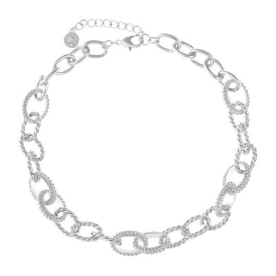 Liz Claiborne Curb 18 Inch Chain Necklace