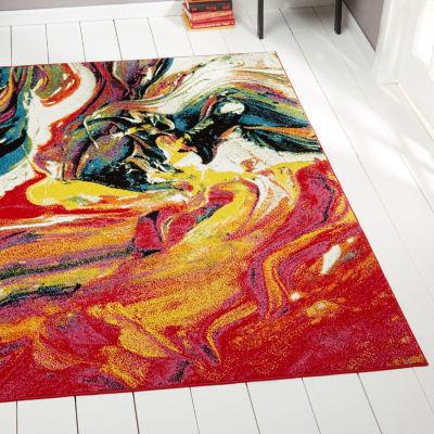 Home Dynamix Splash Avant Abstract Round Area Rug