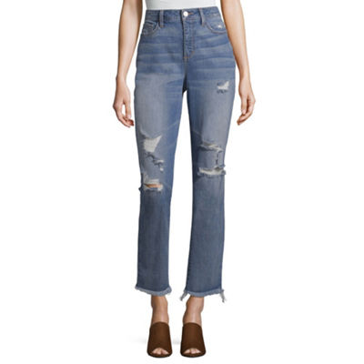 a.n.a High Rise Vintage Straight Jean - Tall