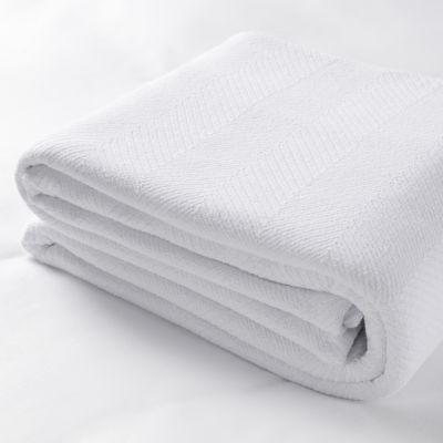 Sobel Westex Commercial 8 Pack Bella Cosa 2 Inch Herringbone Blanket