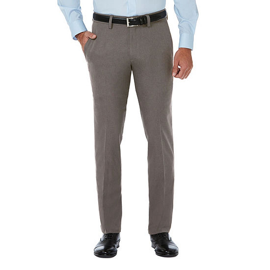 Haggar® Cool 18 Pro Men's Mid Rise Slim Fit Flat Front Pant