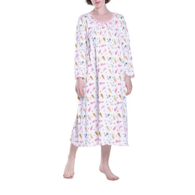 La Cera Plus - Size Long Sleeve Nightgown