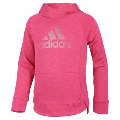 adidas Long Sleeve Sweatshirt - Preschool Girls