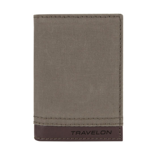 Travelon Anti-Theft Rfid Blocking Courier Wallet