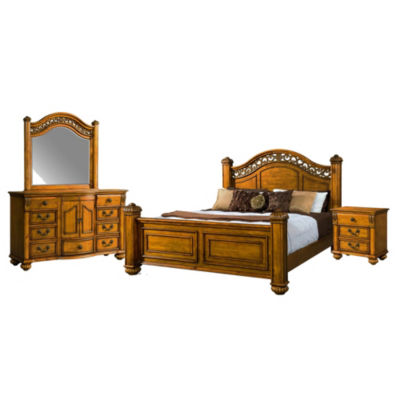 Picket House Furnishings Barrow Poster 4-pc. Bedroom Set