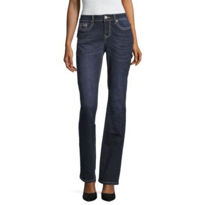 Love Indigo Single Wing Pocket Jean - Tall