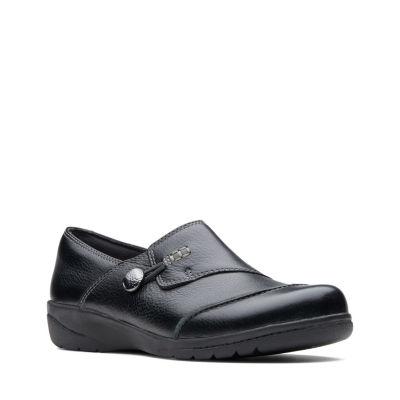 Clarks Womens Cheyn Misha Slip-On Shoes Slip-on Round Toe