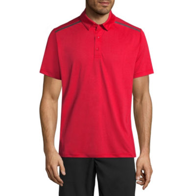 Msx By Michael Strahan Mens Crew Neck Short Sleeve Polo Shirt