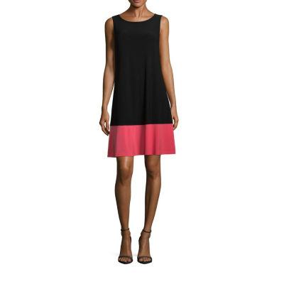 Ronni Nicole Sleeveless Shift Dress-Petite