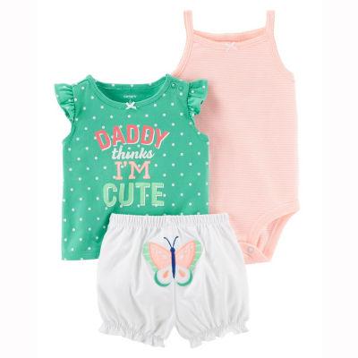 Carter's 2-pc. Short Set - Baby Girls