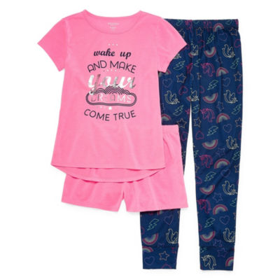 Arizona 3-pc. Pajama Set Girls