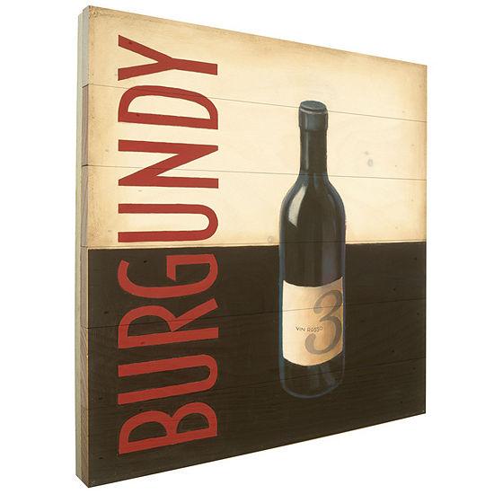 Vin Moderne ll Rustic Wood Pallet Wall Art