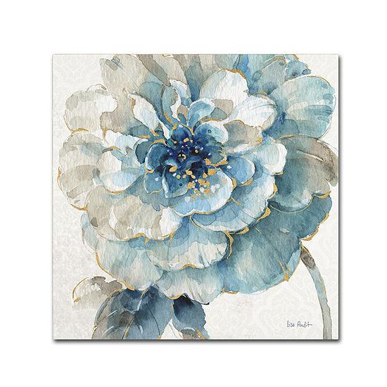 Trademark Fine Art Lisa Audit Indigold VII GicleeCanvas Art