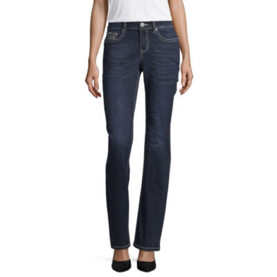Love Indigo Double Wing Pocket Jean - Tall