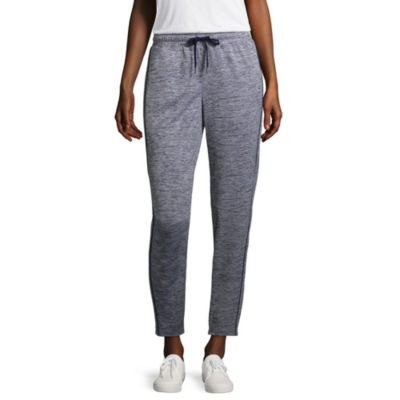 St. John's Bay Active Womens Mid Rise Cuffed Track Pant
