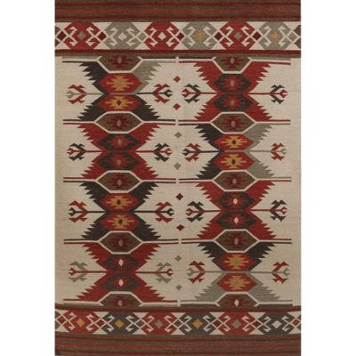 Amer Rugs Makamani AA5 Flat-Weave Wool Rug