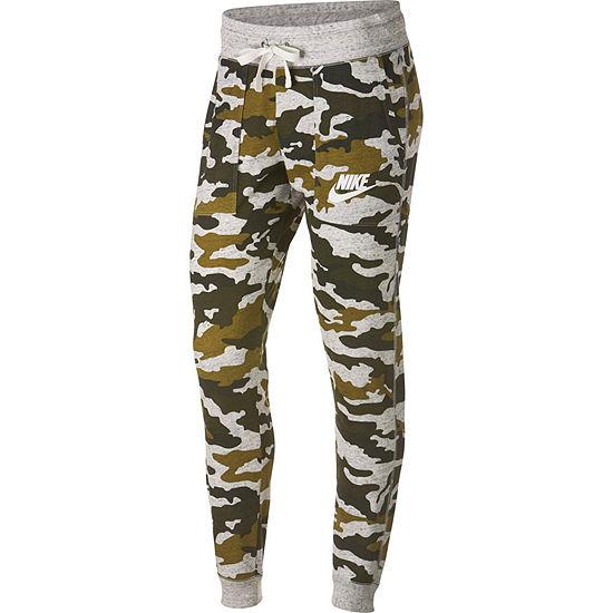 Women's Nike Camo Gym Vintage Pant