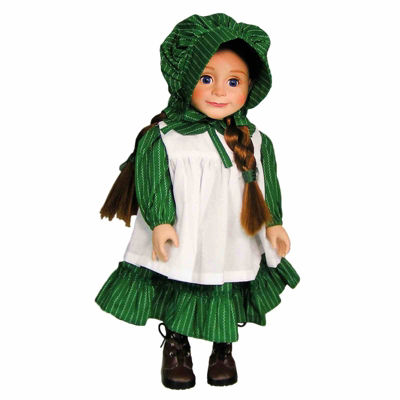 The Queen's Treasures 18 Inch Doll Little House 3-pc. Prairie Outfit