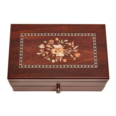 Mele & Co. Brynn Wooden Jewelry Box