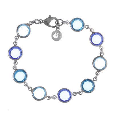 Gloria Vanderbilt Womens 7 1/2 Inch Link Bracelet