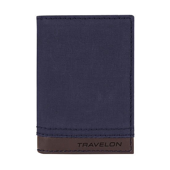 Travelon RFID Blocking Courier Slim Wallet
