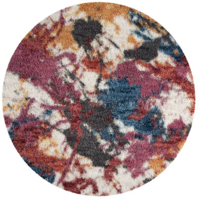 Safavieh Gypsy Collection Vaska Abstract Round Area Rug