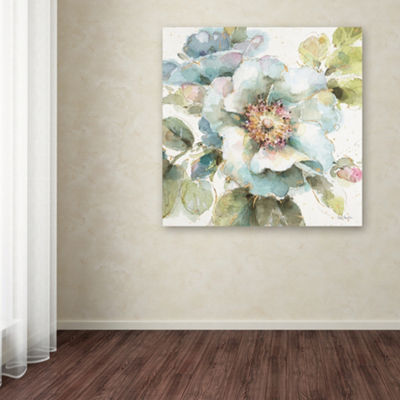 Trademark Fine Art Lisa Audit Country Bloom VII Giclee Canvas Art
