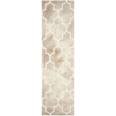 Safavieh Dip Dye Collection Sierra Geometric Runner Rug