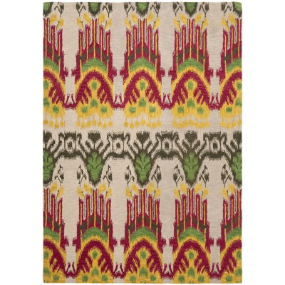 Safavieh Ikat Collection Euclid Geometric Area Rug
