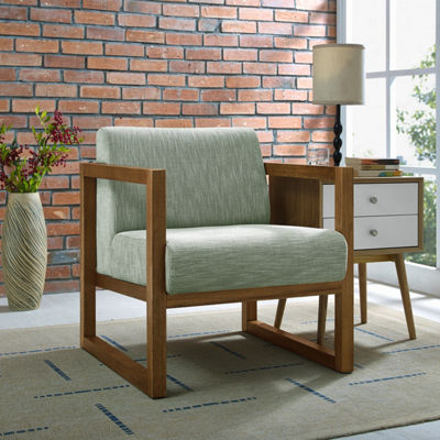 Modern Style Willow Wood Frame Chair