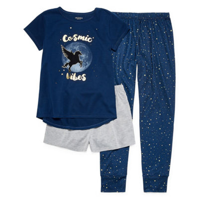 Arizona Cosmic Vibes 3pc Pajama Set - Girls