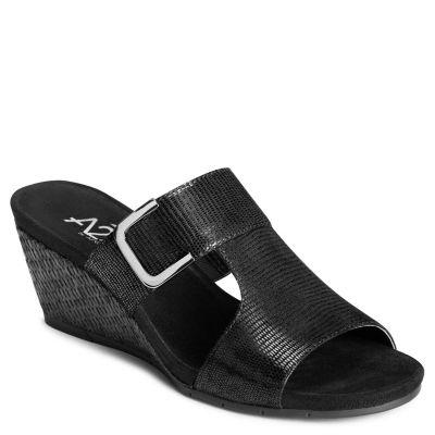 A2 by Aerosoles Lemon Cake Womens Wedge Sandals