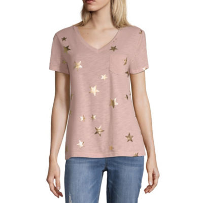 Peyton & Parker Short Sleeve V Neck T-Shirt