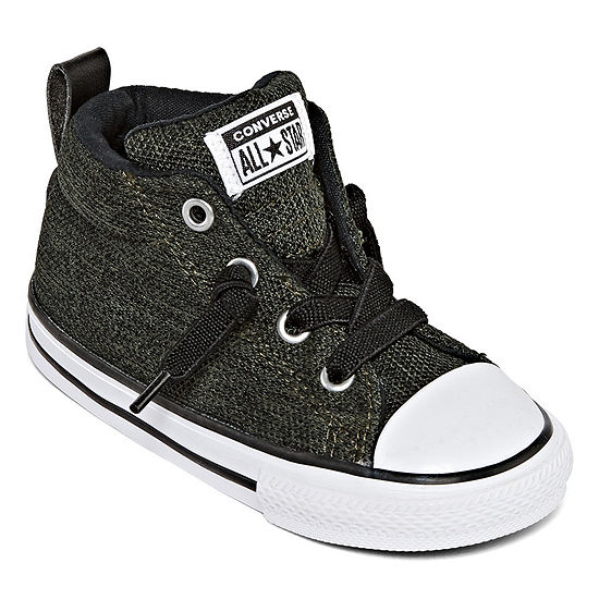 Converse Chuck Tayor All Star Street Mid Boys Sneakers - Toddler