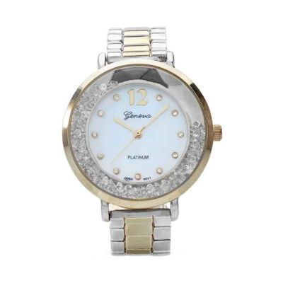 Geneva Platinum Womens Multicolor Bracelet Watch-9488