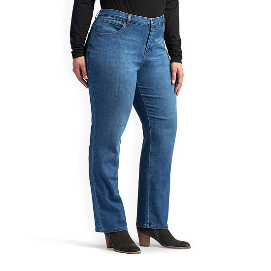 Lee® Relaxed Fit Straight Leg Jeans - Plus
