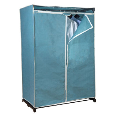 "Simplify Portable Closet 36"" Dusty Blue"