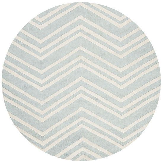 Safavieh Kids Collection Donal Geometric Round Area Rug