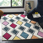 Safavieh Hollywood Collection Stripes Geometric Area Rug