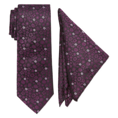 U.S. Polo Assn. Extra Long Floral Tie Set