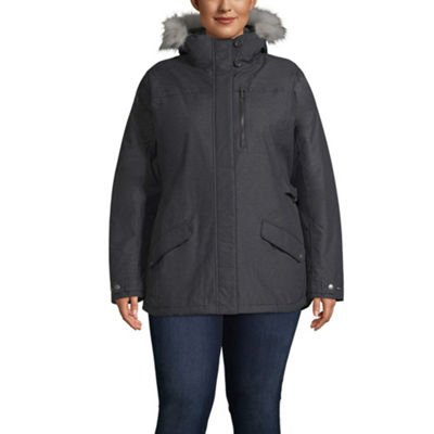 Columbia Penns Creek Woven Water Resistant Midweight Softshell Jacket-Plus