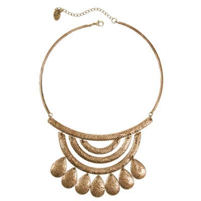 EL by Erica Lyons 6/25 El Plum Womens Collar Necklace