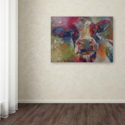 Trademark Fine Art Richard Wallich Art Cow 4592 Giclee Canvas Art