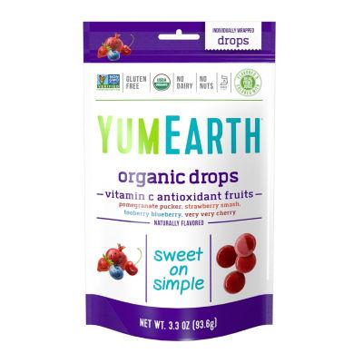 YumEarth Organic Vitamin C Antioxidant Fruit Drops- 3.3 oz - 3 Pack